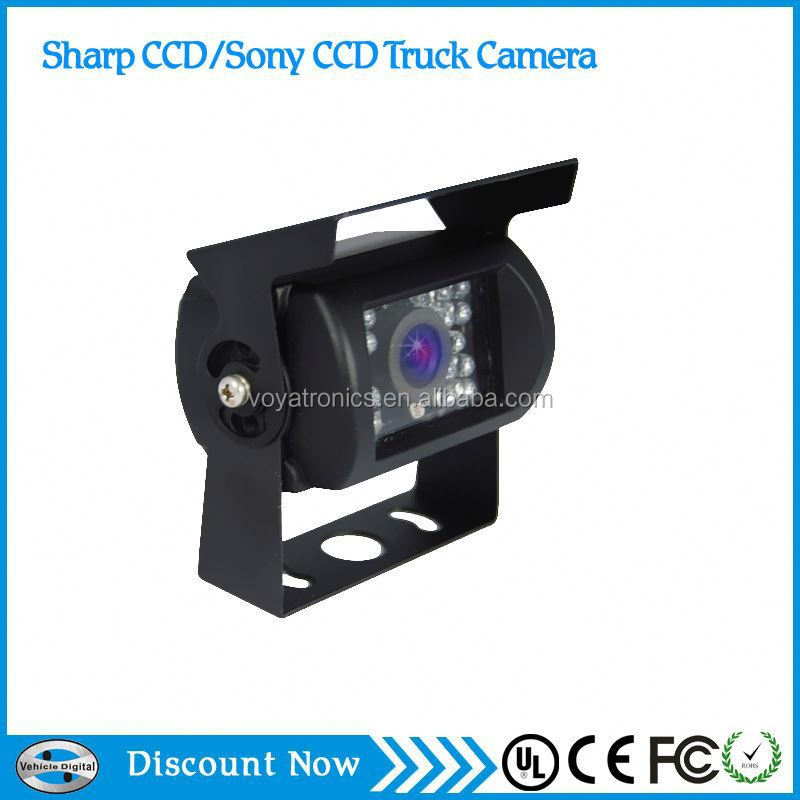 truck camera working voltage 12v -24v automatically identification infrared night vision