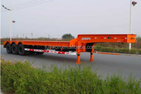 50 Tons Low Bed Trailer Tri