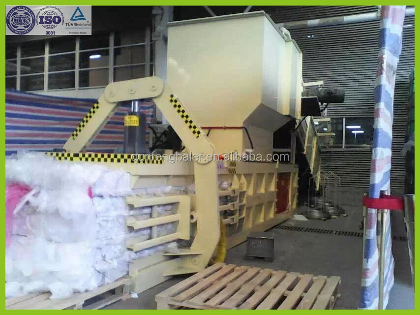 Automatic Hydraulic cotton press baling machine