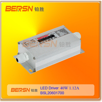 Waterproof transformer 36V 1.12A 40W Constant Voltage led driver IP67 led power supply