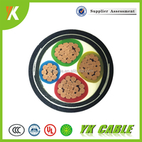 Fault locator underground armoured fire resistant pvc electric cable