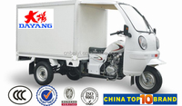 New style motor tricycle three wheel cargo tricycle on sale cabin tricycle with enclosed cargo box
