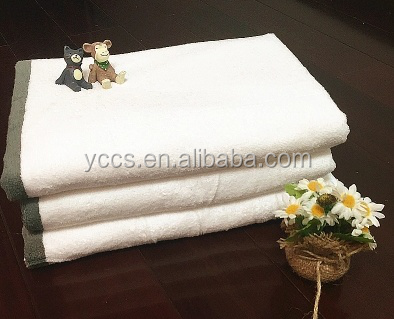 China supplier 5 star hotel 100% cotton bath towel