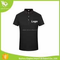 Cotton Color Combination Collar Design Pique Polo Shirt