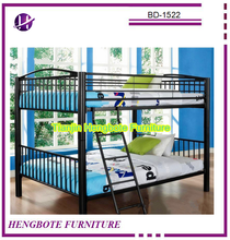 Adult Bunk Bed for Hotels Steel Metal School Student Dorm Bunk Bed Cheap Strong Army Military Dormitory