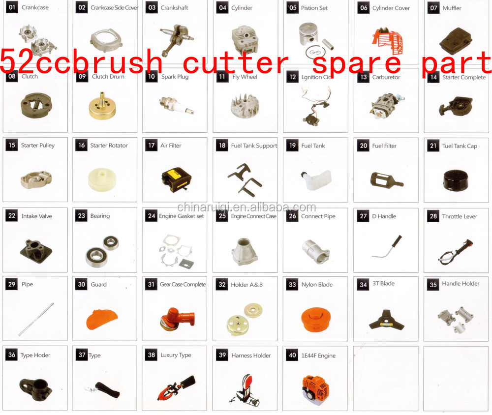 105cc 4.8kw MS070 Chain Saw Spare Parts-58mm cylinder