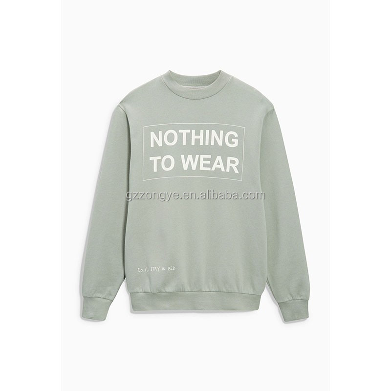 Slogan printed ladies causal sweat Tops
