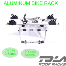 2-Bicycle Trunk-Mount Portable Bike Carrier Rack for Sedan