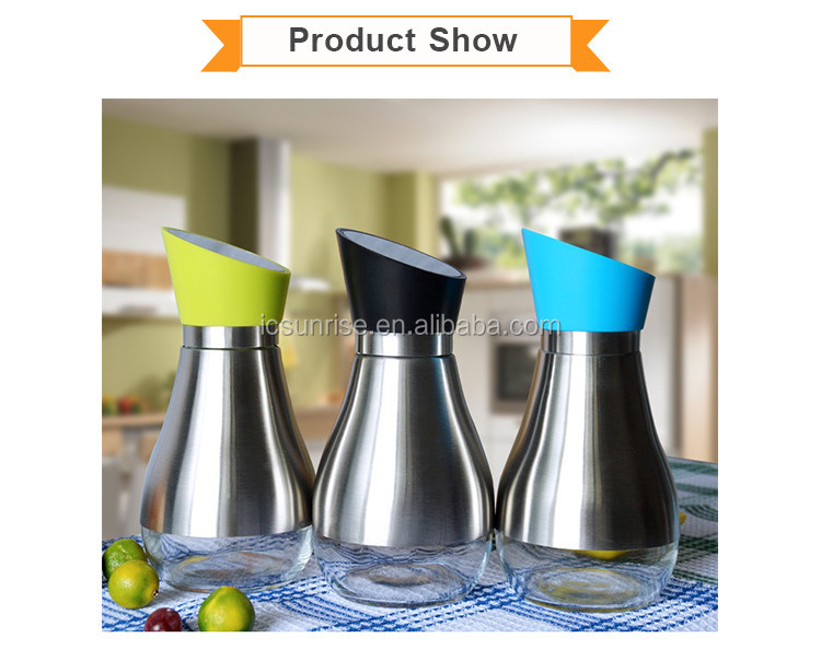 400ml Stainless Steel Oil and Vinegar Dispenser Bottle