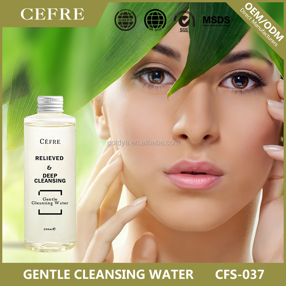 2017 new design gentle makeup remover with good quality