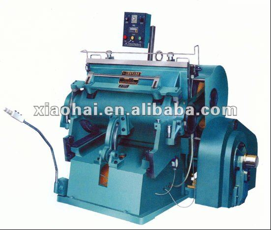 manual sheet feed paper cup die cutting machine