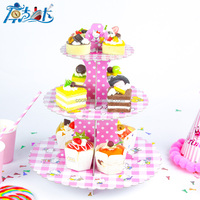 3-tier Cartoon theme Cupcake Stand for Kids Party