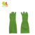 Popular green long latex gloves / rubber long evening gloves for women and kitchen