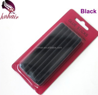 black hotmelt glue stick for hair extension