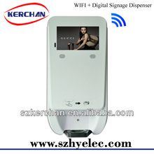 automatic touchless foaming soap dispenser with advertising display,new products agents wanted
