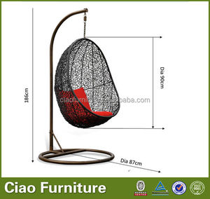 Wholesale cheap rattan hanging egg chair