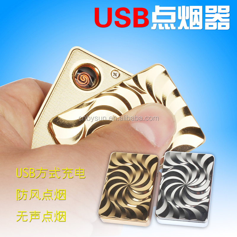 Cigarette Usage Plastic Rechargeable Cheap Electric Usb Lighter