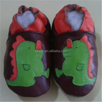 wholesale fashion market flat sol beautiful indoor kids Handmade Leather fancy baby girls shoes