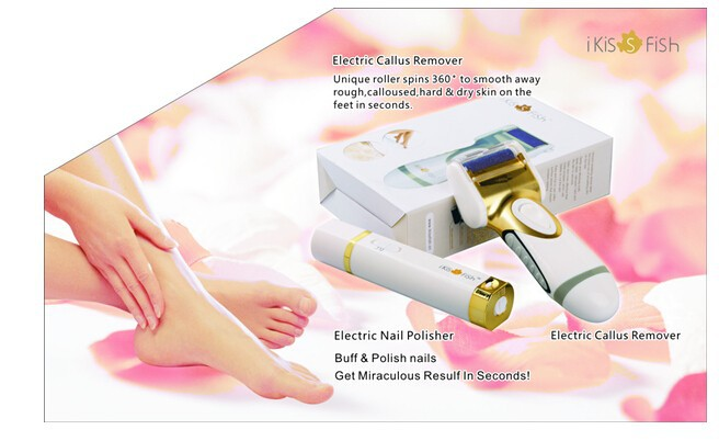April 2015 newest hot selling electric callus remover/Pedi Perfect/advance sale/low price