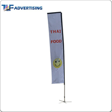 Fast delivery cheap price decorative feather rectangular flag emoji rectangle flag banner