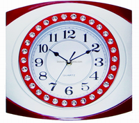 Decorative Classic Diamond Wall Clock for Home Decor