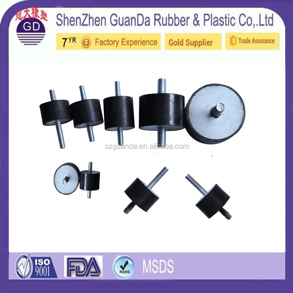 Customized Iron and Rubber Material and Engine Mount Type vibration proof vibration dampening