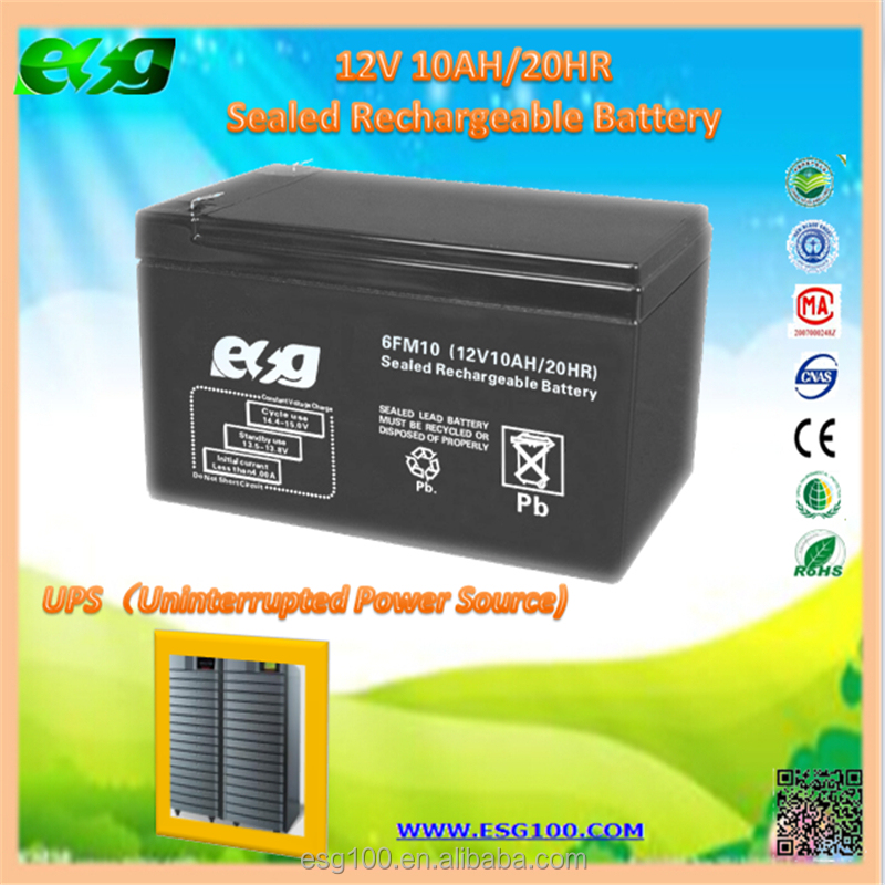 Rechargeable Deep Cycle Sealed Lead Acid Storage Battery Solar Use 12V 10Ah-250Ah battery batteries for Solar Power System