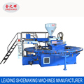 Automatic sandals injection machine / PVC slipper and sandals making machine with 20 stations