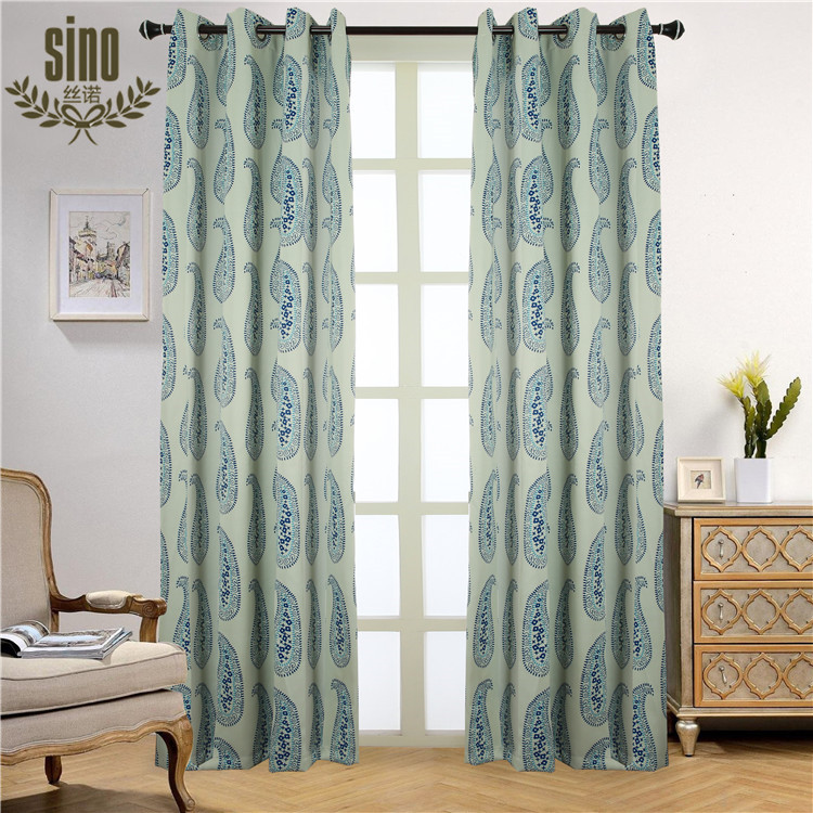 Competitive Price print window curtain