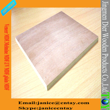 2017 bottom price 20mm thick mdf board