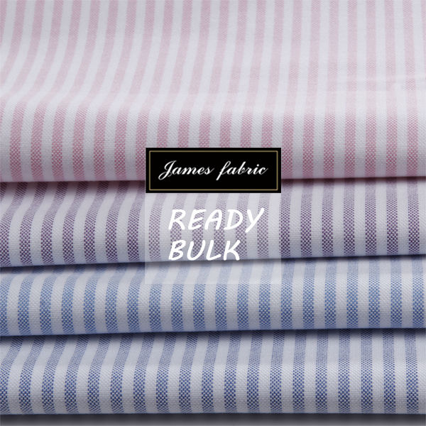 all year running stock of cotton stripe oxford cloth