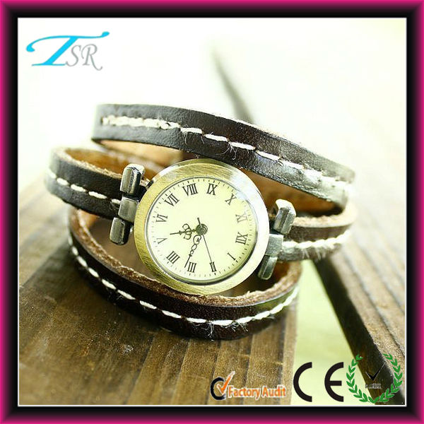 2014 Wholesale new designer model watches bracelets leather wide