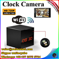 2016 New Cube WIFI Clock Camera,720P HD Motion Detection Clock Hidden Camera With Night Vison and 2 way intercom