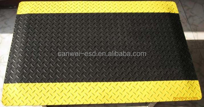 Anti-fatigue floor mat esd
