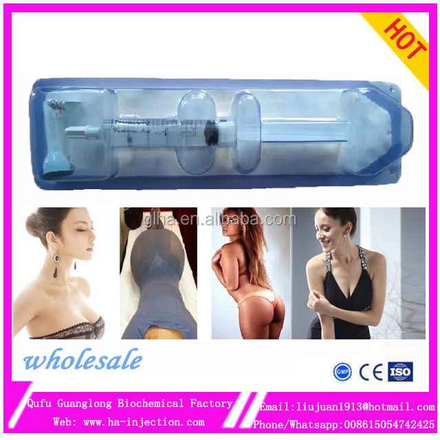 5ml hastyle CE <strong>Beauty</strong> sterile anti wrinkle dermal fillers butt injections hydrogel injections