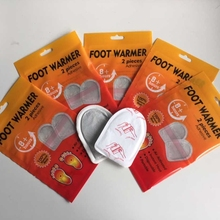 hand warmers Pass Europe testing small size toe warmer foot warmer
