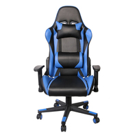 Aoda Furniture Lying function Blue Color High Back PU Office Racing Chair Gaming
