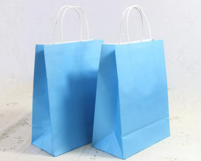 Printed Custom Made Shopping Bags,Plastic Lined Wax Paper Bags ...
