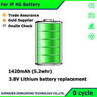 For iPhone 4 battery repair parts mobile phone internal battery for Apple