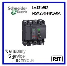 Compact NSX250H4P160A LV431692 Merlin Gerin Schneider MCCB Molded Case Circuit Breaker