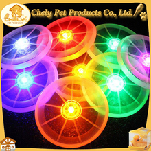 Plastic LED Flying Disc DiA.13cm Wholesale High Quality Dog Toys