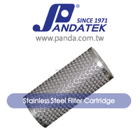 home appliances stainless steel media filter cartridge for mineral water plant