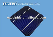 2013 156mm monocrystalline Photovoltaic solar cell , 6x6 mono and poly solar panel, solar lighting system low price