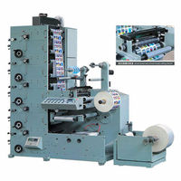High Speed Adhesive tape flexographic label printing machine