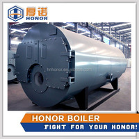 Convenient installation on site domestic used oil gas boiler