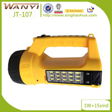 rechargeable hand searchlight charge battery hand light for outdoor work