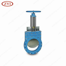 High quality CF8 CF8M CF3 CF3M cast stainless steel knife gate valve