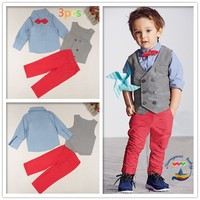 Baby Formal Fashion 3PCS NEW Baby Boy Gentleman Kid's Garment