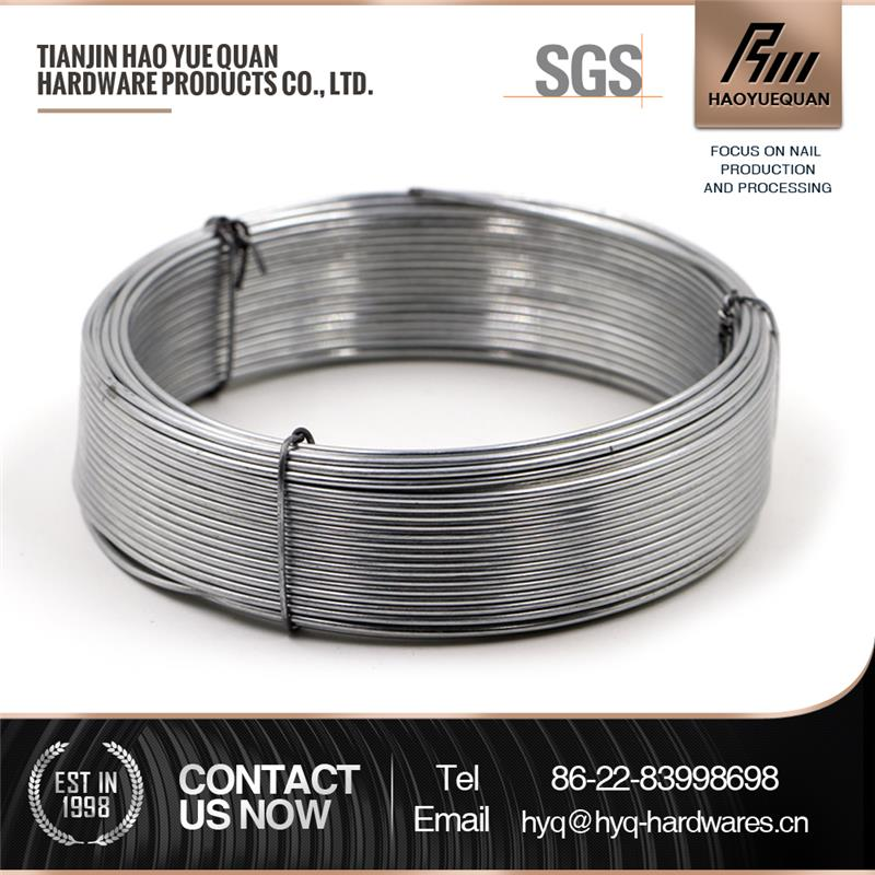 Multifunctional staples wire low price electro galvanized iron wire