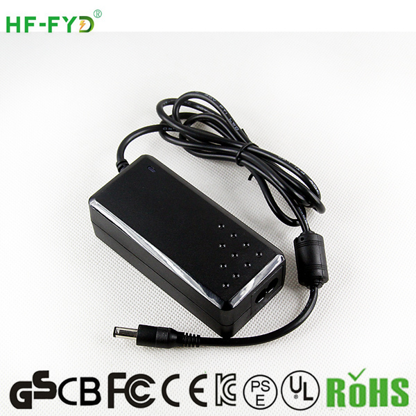 OEM factory high quality 12v 5a ac dc adapter power supply with UL/CUL GS CE SAA FCC approved (2 years warranty)